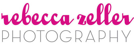 rebeccazellerphotography.com logo
